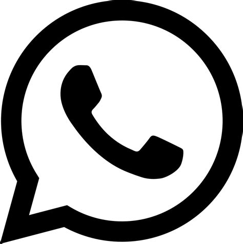 Whatsapp Svg Png Icon Free Download (#370459