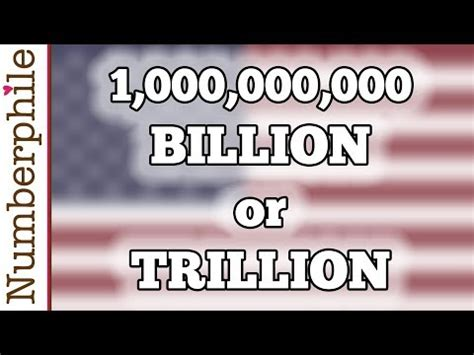 How big is a billion? - Numberphile - YouTube