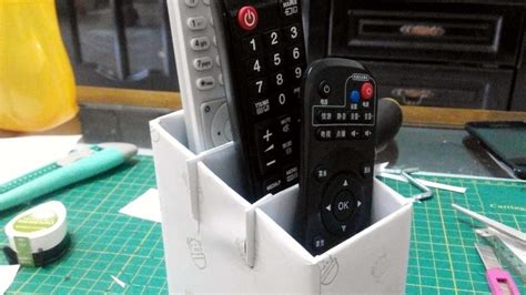 How To Make A Remote Control Stand - DIY Crafts Tutorial