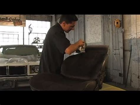 Restore your Vehicle Interior with Dupli-Color Vinyl and