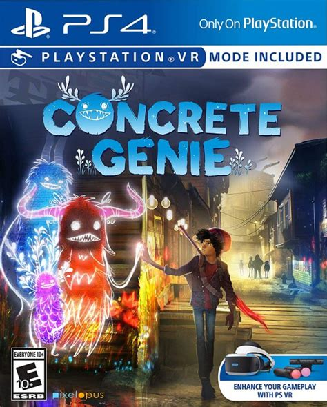 Concrete Genie (PS4 / PlayStation 4) Game Profile | News