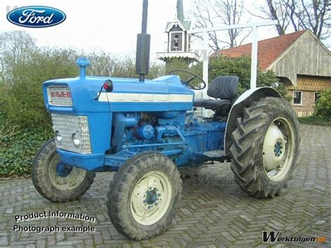 Ford 3000 Super Dexta - Ford - Machinery Specifications