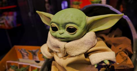 Hasbro's Animatronic Baby Yoda Toy Is Absolutely Adorable