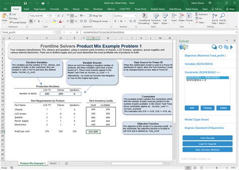 Frontline Systems Releases Next-Generation Solver Add-in