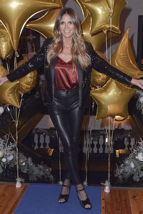 Heidi Klum attends presentation of the new collection
