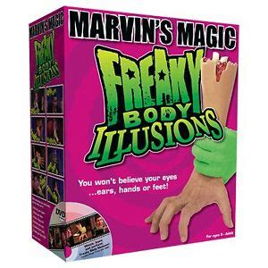 Freaky Body Illusions by Marvin Magic horror illusion