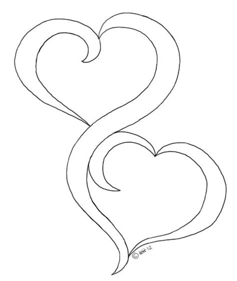 Oak pond digis, two hearts, good idea for a marriage card