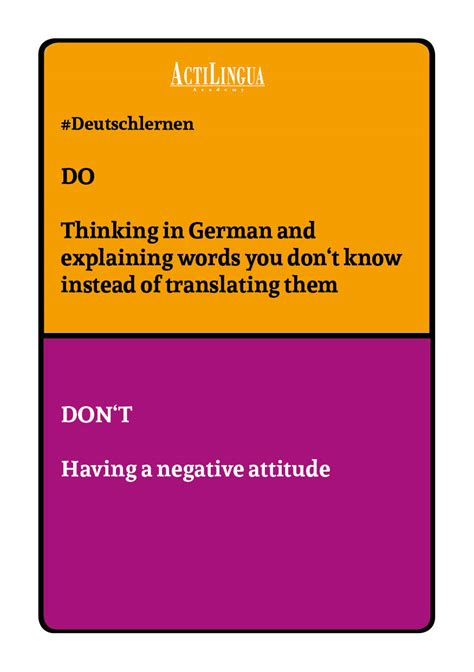 Tips on learning German: Tips and Tricks from ActiLingua