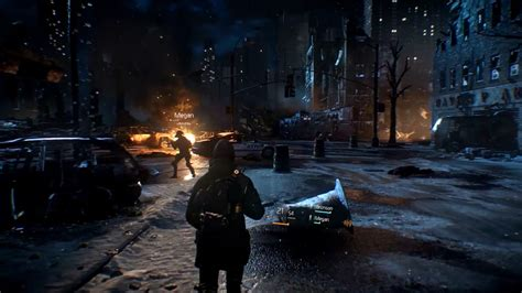 The Division: new screens show night-time squad combat