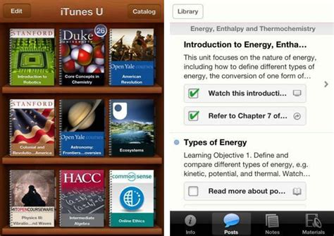 iTunes U App Available In The App Store