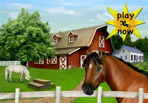 Club Pony Pals - Basic Horse Riding Flash Horse Game for