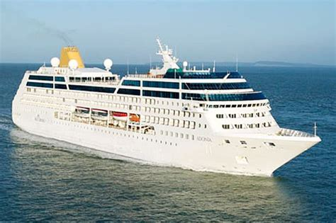 P&O Cruises' smallest ship is preparing to take voyages