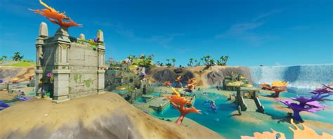 Where to find the new Coral Castle/Atlantis POI in