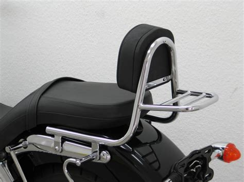 Triumph America Sissybar with pad and carrier Magnum