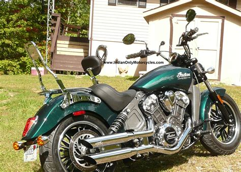 indian scout sissybar chrome installed chopper 4 Indian