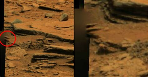 Nasa's Mars Rover captures picture showing 'alien hand' on