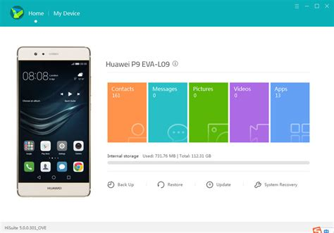 Huawei PC Suite: Huawei Android Smart Phone Device Manager