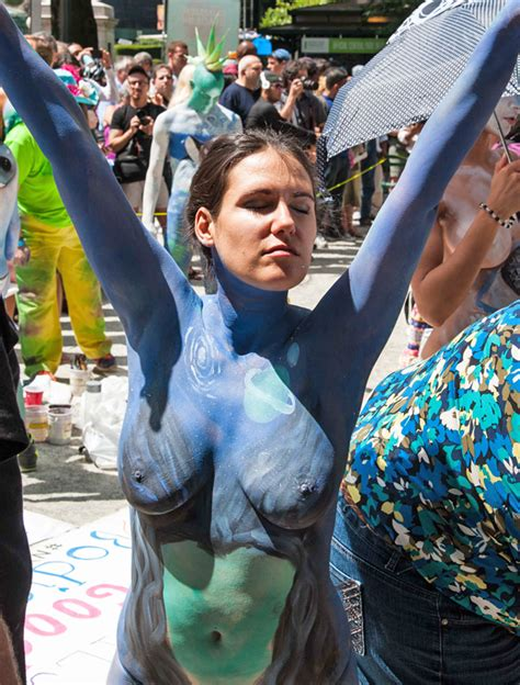 NYC BODYPAINTING DAY 2014 ARTISTS | Bodypainting Day