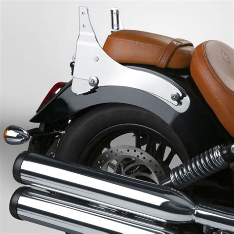 Indian Scout Backrest and Sissy-bar seats