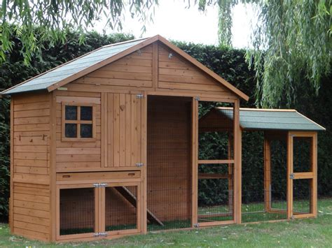 Rabbit hutch Holiday Large with extra run