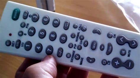 Universal remote control TV-139F (china made) + code - YouTube