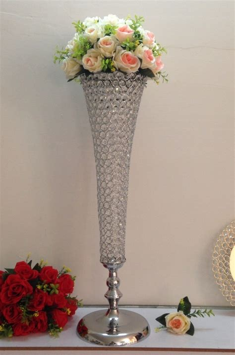 crystal wedding centerpiece table decoration for party