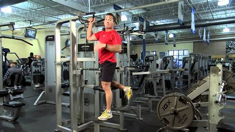 Life Fitness Pro2 Dip Chin Chin Exercise Instructions