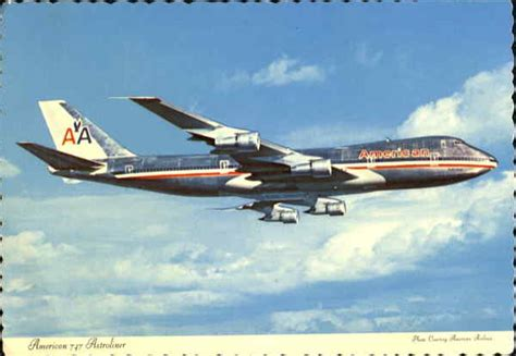 American Airlines 747 Astroliner Aircraft