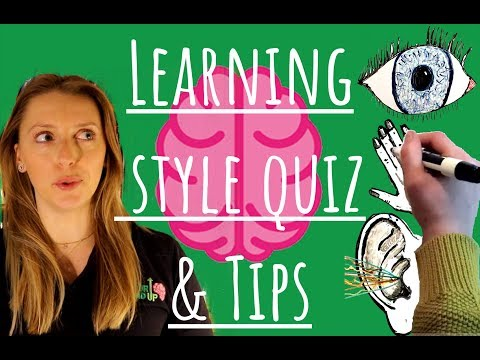 Learning Style Quiz - What Kind of Learner are You? - YouTube