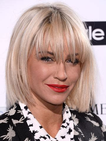Hot new hair! Sarah Harding steps out at InStyle party