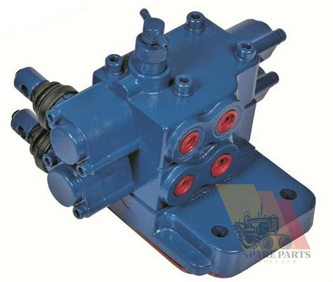 Hydraulic double remote valve kit Ford 5000-6000-6600