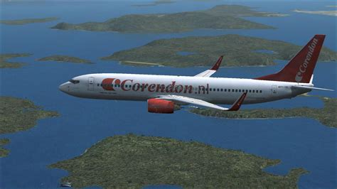 Corendon Dutch Airlines Boeing 737-800 PH-CDE for FSX