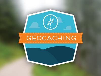 Geocaching logo by Aly Fayollat on Dribbble