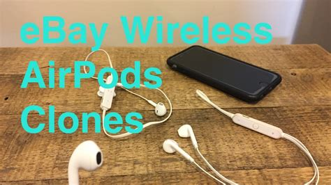 eBay Wireless Bluetooth Earphones Review (Fake Chinese