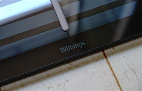 Withings scale, get valuable insights by monitoring your