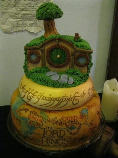 27 'Lord of the rings' inspired cakes will blow your mind