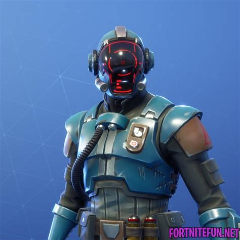 The Visitor Outfit | Fortnite Battle Royale