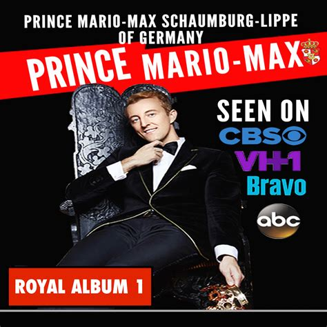 NEW ALBUM NOW IN ALL ONLINE STORES! PRINCE MARIO-MAX MUSIC