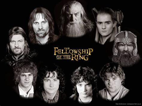 Fellowship of the Ring Desktop Wallpaper Images - The