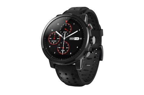 The Amazfit Stratos is a GPS Fitness Watch With an